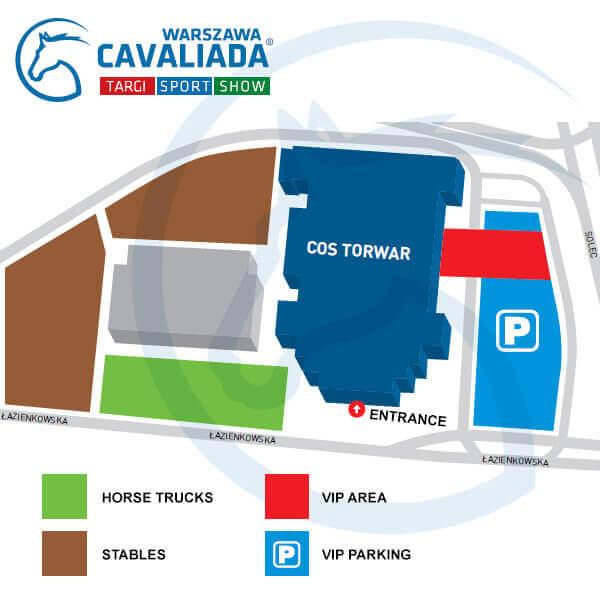 CAVALIADA Warsaw 2016 map