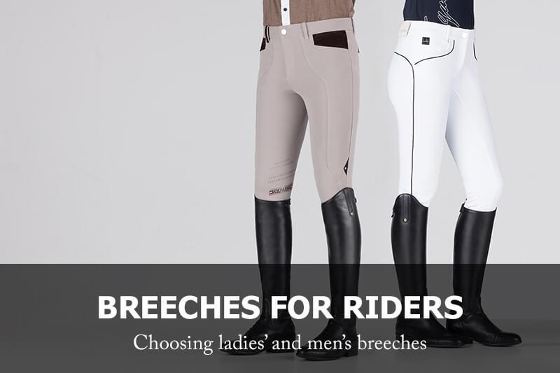 Ladies' and men's breeches