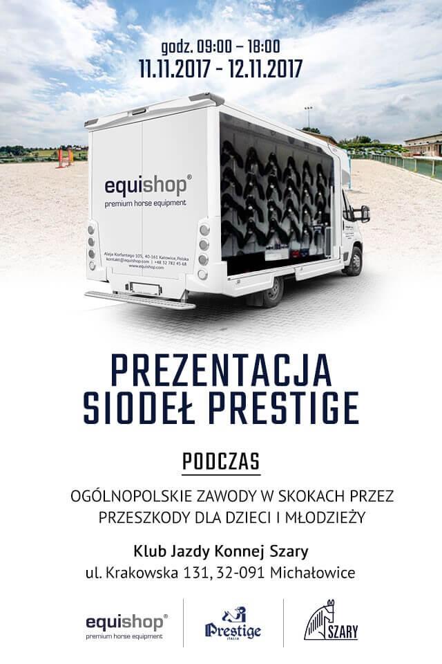 Prezentacja siodeł Prestige Italia w Klubie Jeździeckim Szary