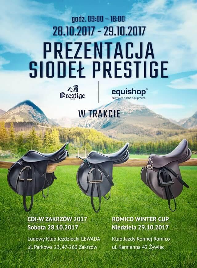 Prezentacja siodeł Prestige Italia w Zakrzowie i Żywcu