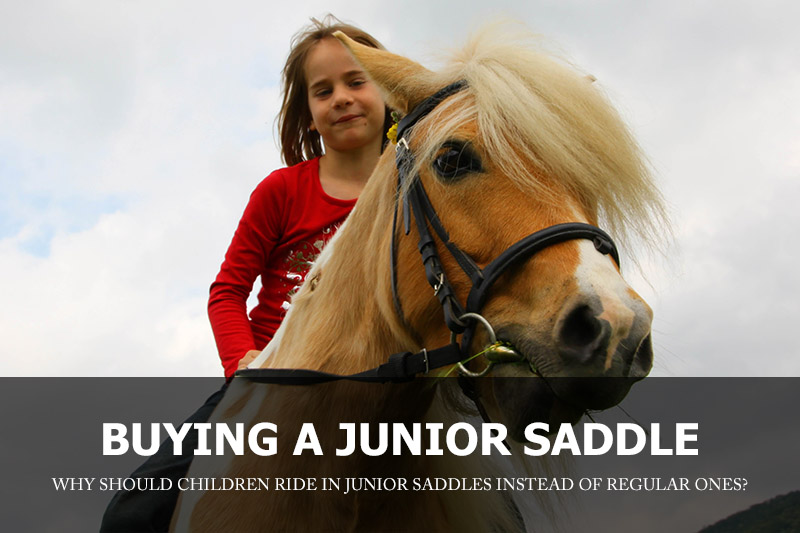 Choosing a junior saddle