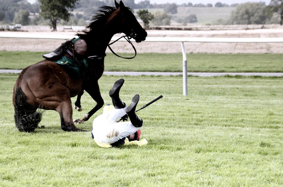 Upadek z konia