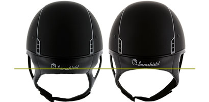 shadowmatt helmet with or without dressage chinstrap
