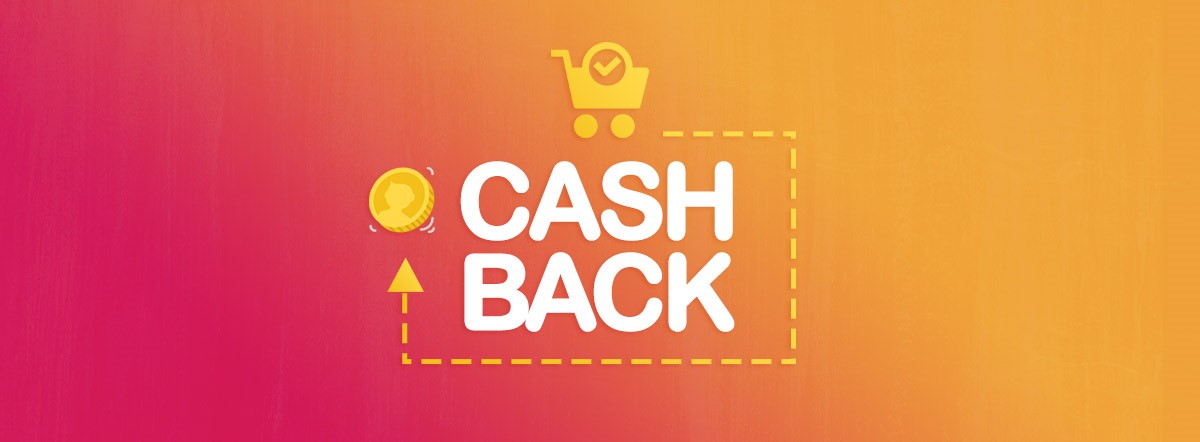 ($ | £ | €) 15 CASHBACK for every ($ | £ | €) 100 spent!